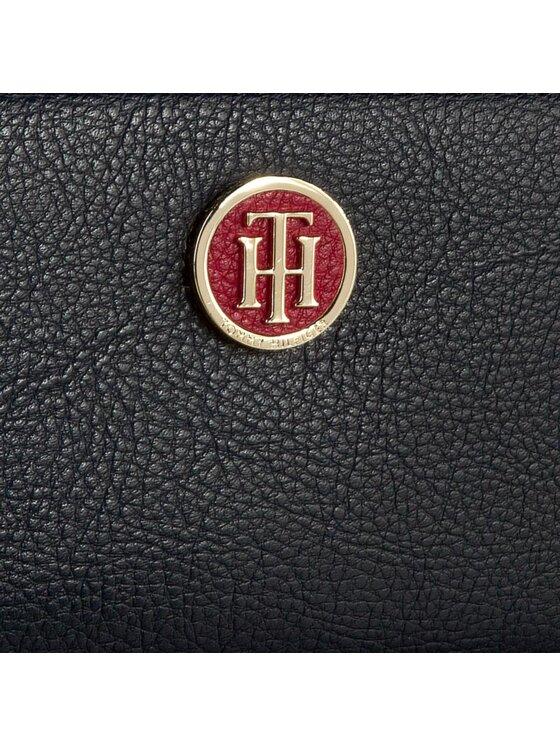 Tommy Hilfiger Tommy Hilfiger Голям дамски портфейл Th Core Large Za Wallet AW0AW03041 Тъмносин