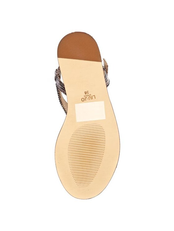 Liu Jo Liu Jo Sandály sandalo Flat Nora S15107 P0162 Hnědá