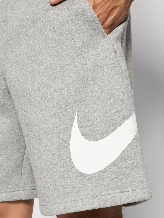 Nike Nike Szorty sportowe Club Short Bb BV2721 Szary Regular Fit