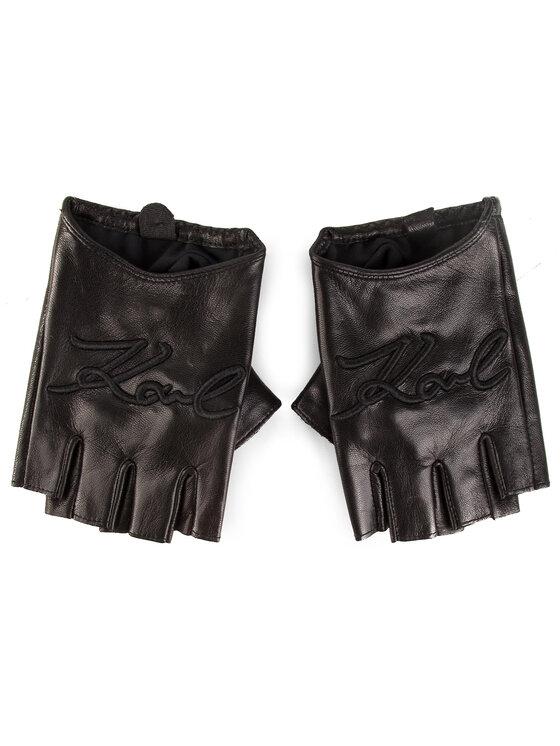 KARL LAGERFELD KARL LAGERFELD Dámské rukavice 91KW3606 Černá