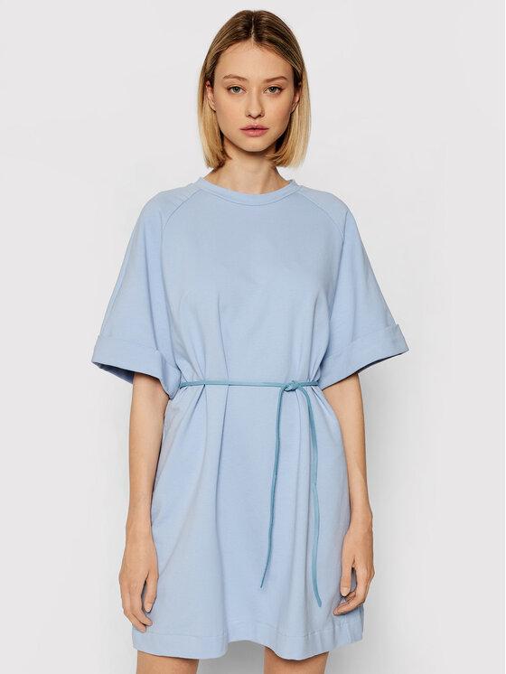 Imperial Kasdieninė suknelė ABZQBCR Mėlyna Regular Fit