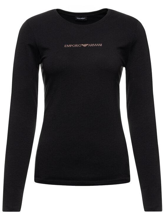 Emporio Armani Underwear Emporio Armani Underwear Blúzka 163229 9A263 00020 Čierna Regular Fit