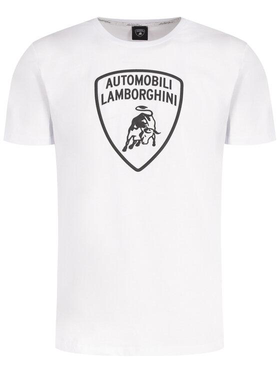 Lamborghini Lamborghini Tricou B3XUB7G1 Alb Regular Fit
