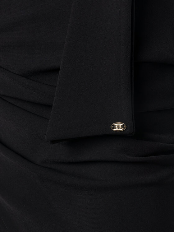 Elisabetta Franchi Elisabetta Franchi Jupe crayon GO-280-96E2-V159 Noir Regular Fit