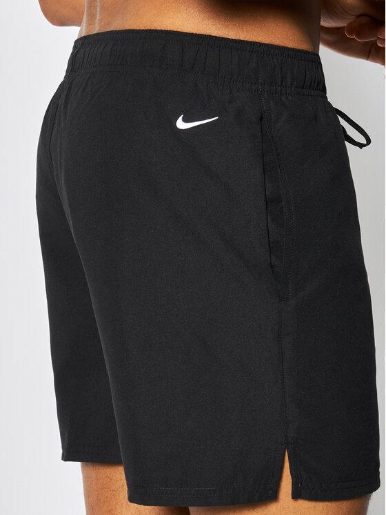 Nike Nike Badeshorts Logo Solid NESS9504 Schwarz Regular Fit
