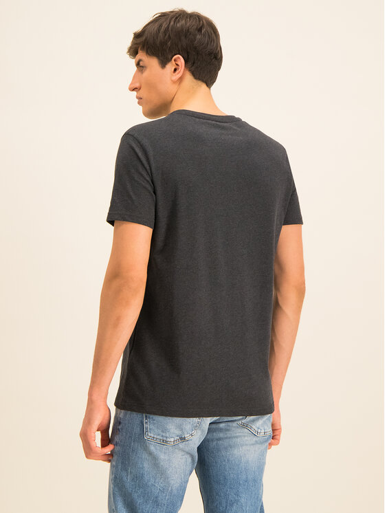 Tommy Hilfiger Tommy Hilfiger T-Shirt Tee Logo UM0UM01623 Černá Regular Fit