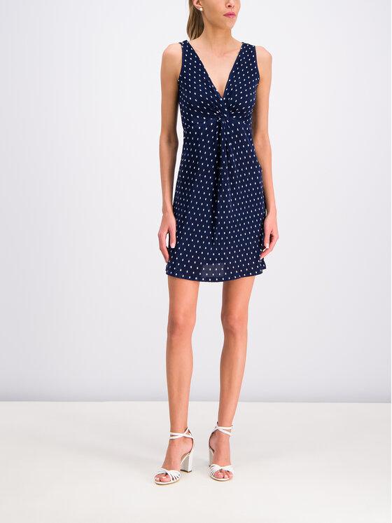 Guess Guess Vasarinė suknelė W92K0M K8J00 Tamsiai mėlyna Slim Fit