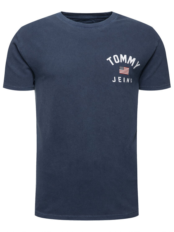 Tommy Jeans Tommy Jeans T-shirt Chest Logo DM0DM07008 Blu scuro Regular Fit