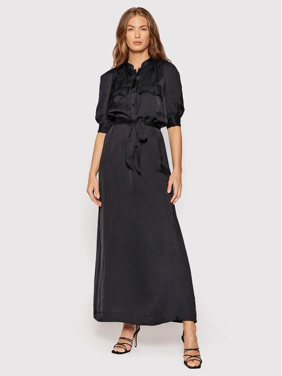 Zadig&Voltaire Kasdieninė suknelė Remedy PWHCP0402F Juoda Regular Fit