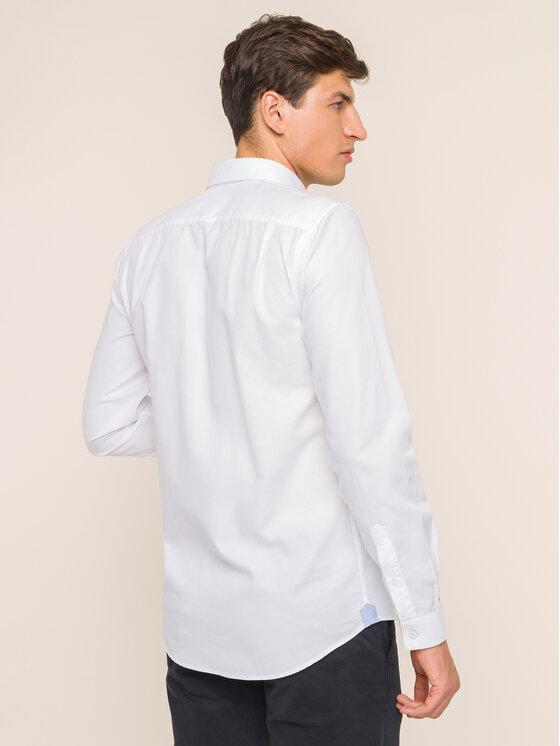 Lacoste Lacoste Camicia CH4976 Bianco Slim Fit