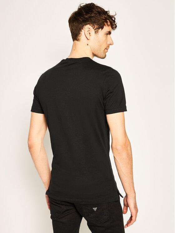 Calvin Klein Jeans Calvin Klein Jeans T-Shirt Slim Organic Cotton Logo J30J315173 Černá Slim Fit