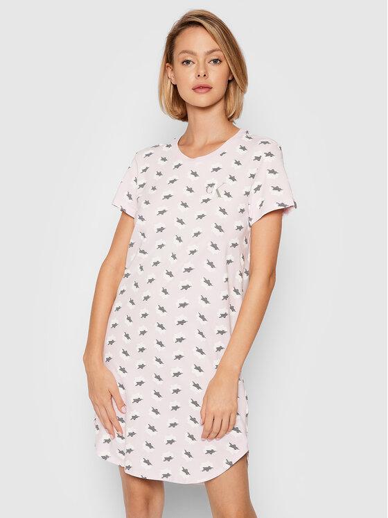 Calvin Klein Underwear Calvin Klein Underwear Koszula nocna 000QS6358E Różowy