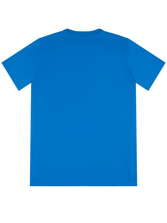 Emporio Armani Emporio Armani T-Shirt 8N4T99 1JNQZ 0944 Niebieski Regular Fit