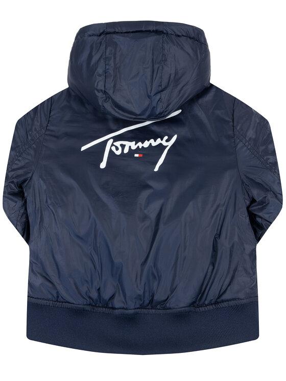 Tommy Hilfiger Tommy Hilfiger Kurtka przejściowa Reversible Quilted KB0KB05493 M Kolorowy Regular Fit