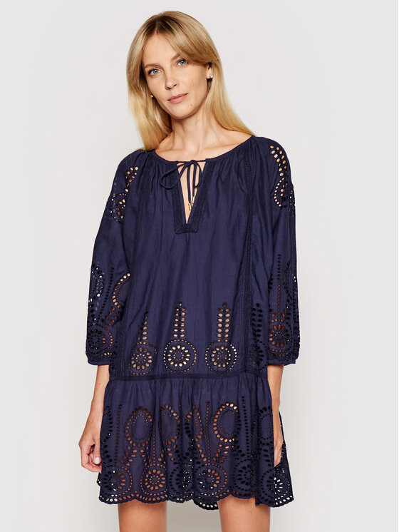 Melissa Odabash Vasarinė suknelė Ashley CR Tamsiai mėlyna Relaxed Fit