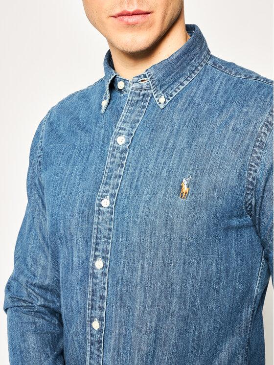 Polo Ralph Lauren Polo Ralph Lauren Camicia Core Replen 710548539 Blu scuro Slim Fit