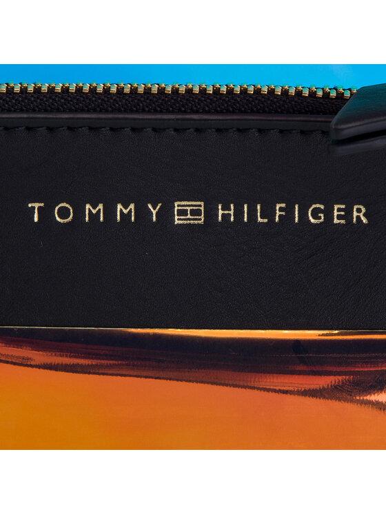 Tommy Hilfiger Tommy Hilfiger Torebka Iconic Tommy Tote Irri AW0AW06900 Kolorowy