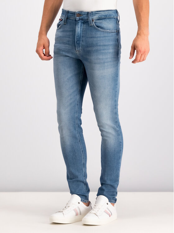 Tommy Jeans Tommy Jeans Džinsai DM0DM06876 Tamsiai mėlyna Skinny Fit