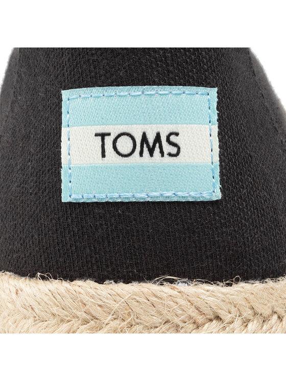 Toms Toms Espadryle Alpargata Rope 10016278 Czarny