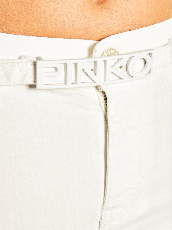 Pinko Pinko ΤζινSkinny Fit Sabrina PE 20 PDEN 1J10CB Y62G Λευκό Skinny Fit