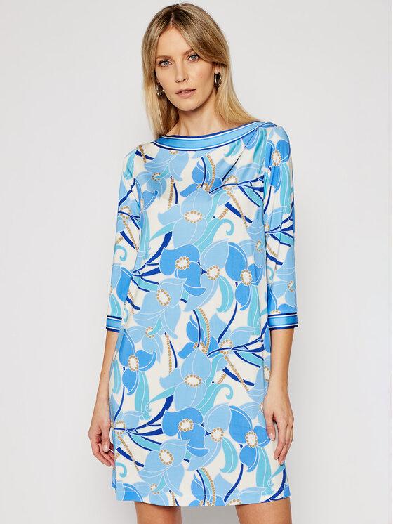 Luisa Spagnoli Kasdieninė suknelė Pearl 537989 Mėlyna Regular Fit