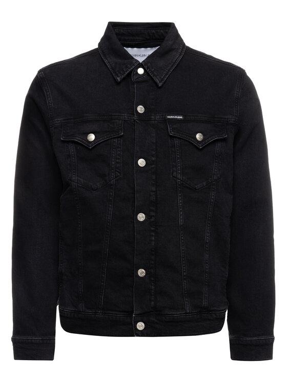 Calvin Klein Jeans Calvin Klein Jeans Džínsová bunda J30J312823 Čierna Regular Fit