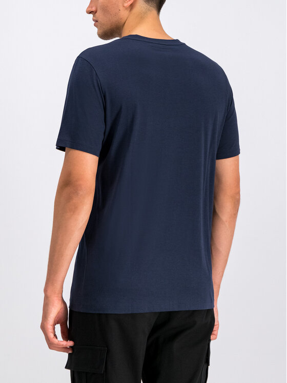 Hugo Hugo T-Shirt 50414186 Σκούρο μπλε Regular Fit