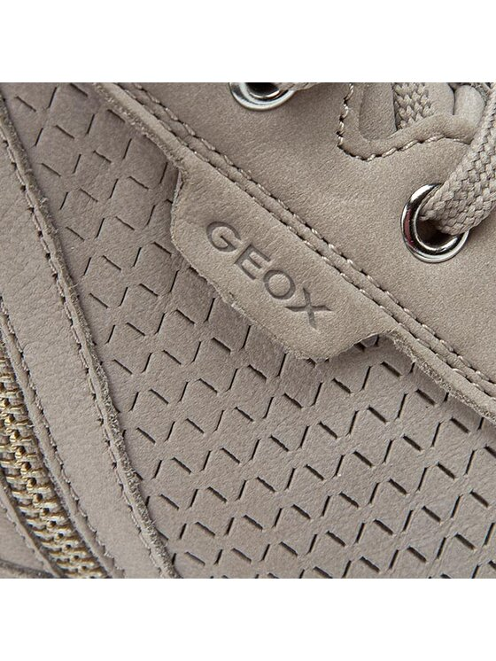 Geox Geox Sneakersy D Illusion A D6254A 000LT C1010 Šedá