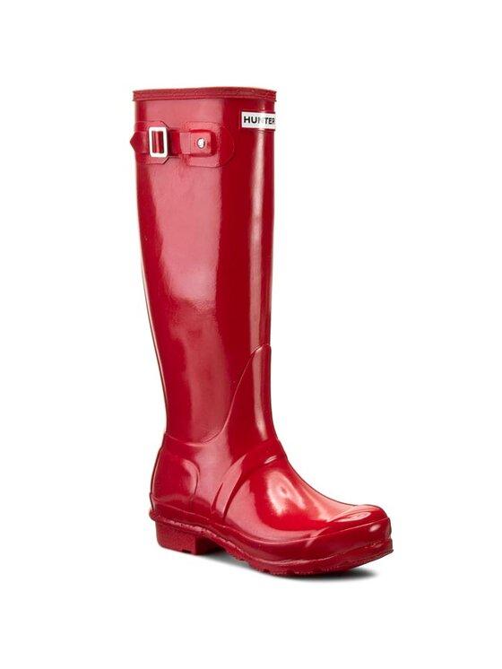 Hunter Guminiai batai Original Gloss WFT1000RGL Raudona