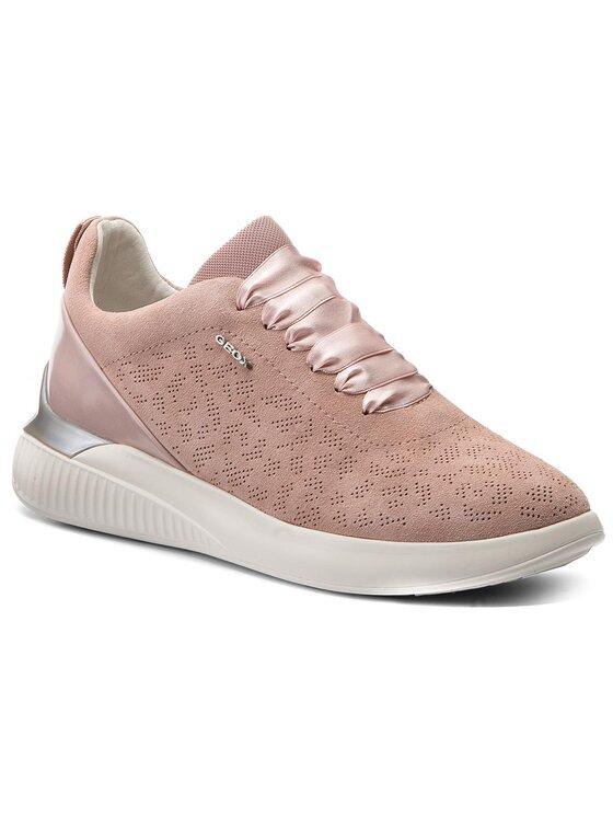 Geox Geox Sneakersy D Theragon C D828SC 022BC C8056 Růžová