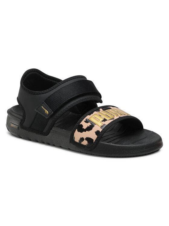 Puma Basutės Softride Sandal Wns Leo 380722 01 Juoda