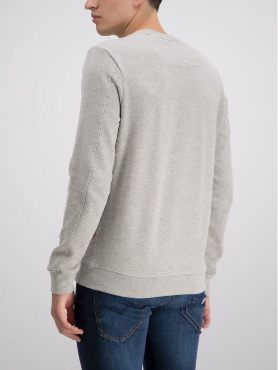 Guess Guess Sweatshirt M93Q33 K8S40 Grau Slim Fit
