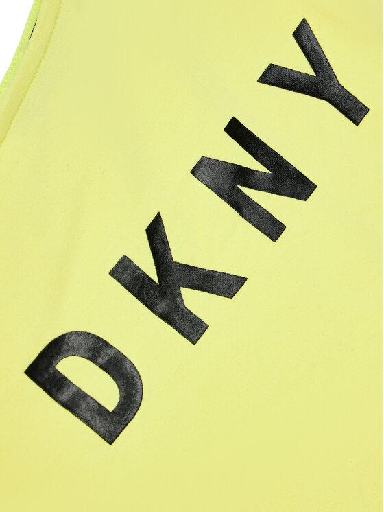 DKNY DKNY Bluzka D35R44 D Żółty Regular Fit