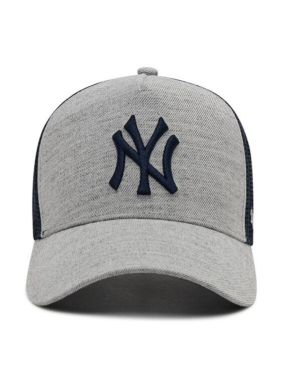 47 Brand 47 Brand Czapka z daszkiem Mlb New York Yankees Storm Cloud Mesh B-STMSD17WHP-CC Szary