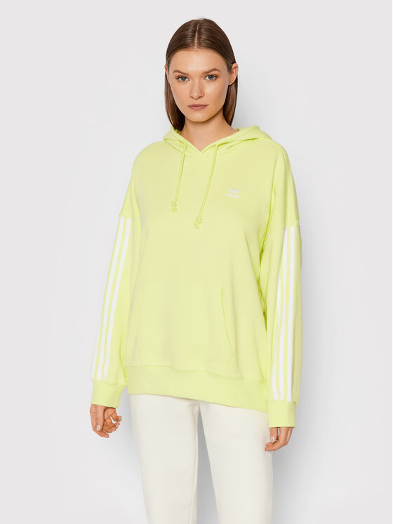 adidas adidas Majica dugih rukava adicolor Classics H37801 Žuta Oversize