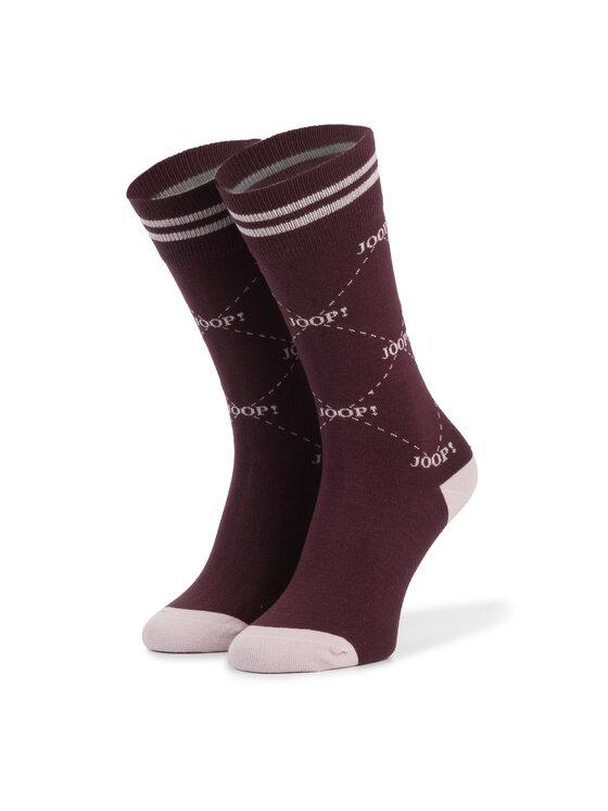 JOOP! Joop! Șosete Lungi de Damă Logo Sock 760.055 Vișiniu