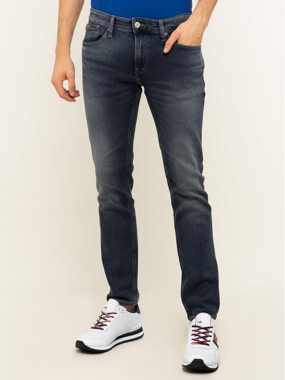 Tommy Jeans Tommy Jeans Džínsy Scanton Heritage DM0DM07308 Tmavomodrá Slim Fit