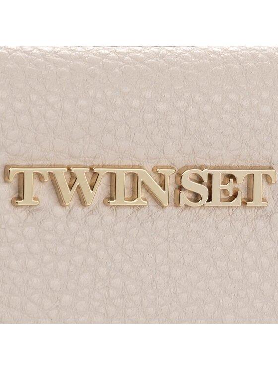 TWINSET TWINSET Дамска чанта Tracolla AS7T3D Бежов