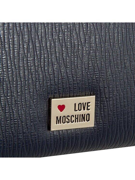 LOVE MOSCHINO LOVE MOSCHINO Duży Portfel Damski JC5507PP10LB0751 Granatowy