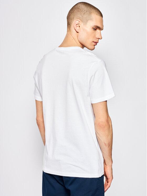 Pepe Jeans Pepe Jeans T-shirt Moe PM507172 Blanc Regular Fit
