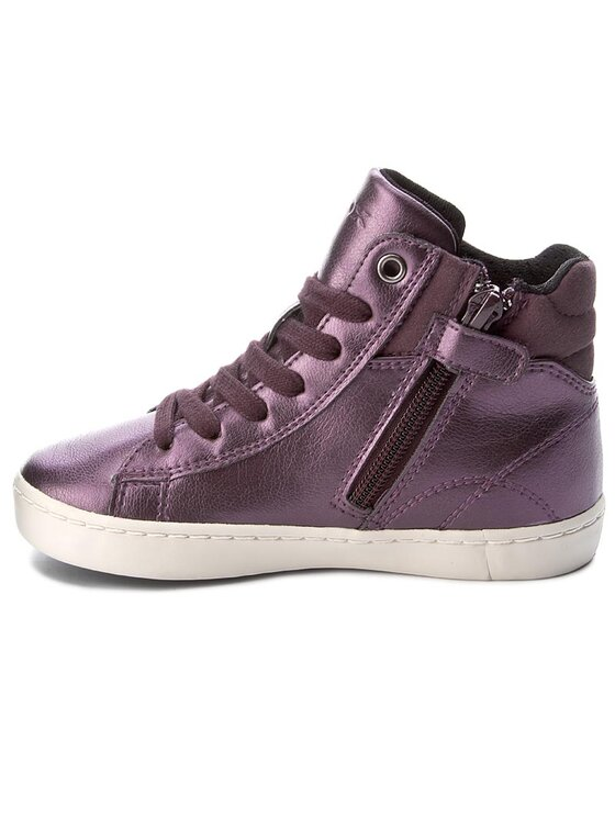 Geox Geox Auliniai batai J Gisli G. C J744NC 000NF C8017 Violetinė