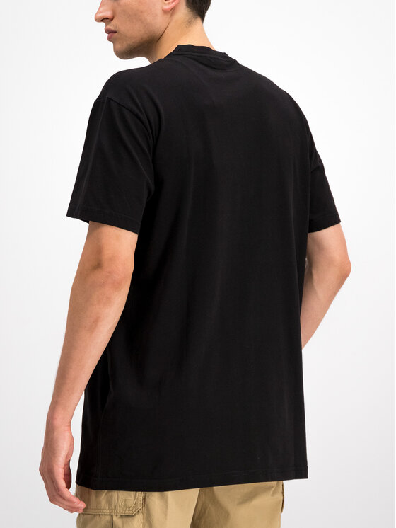 Napapijri Napapijri T-shirt Sagar N0YHUD Noir Loose Fit