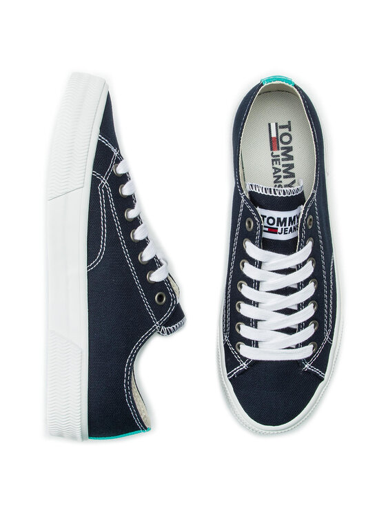 Tommy Jeans Tommy Jeans Tenisówki Classic Tommy Jeans Sneaker EN0EN00590 Granatowy