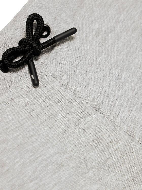 4F 4F Spodnie dresowe JSPMD001A Szary Regular Fit