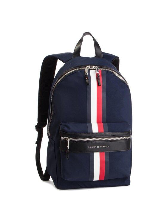 Tommy Hilfiger Tommy Hilfiger Plecak Elevated Backpack Stripe AM0AM04421 Granatowy