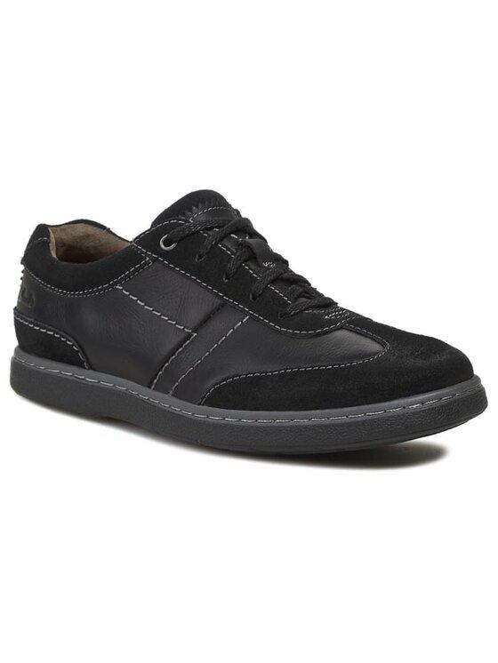 Clarks Clarks Chaussures basses Salton Move 261024787 Noir