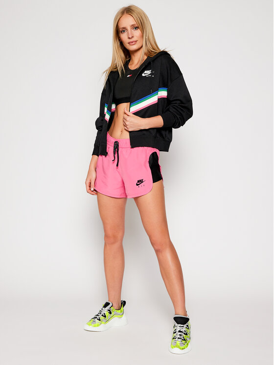 Nike Nike Bluza Nsw Heritage CU5902 Czarny Loose Fit