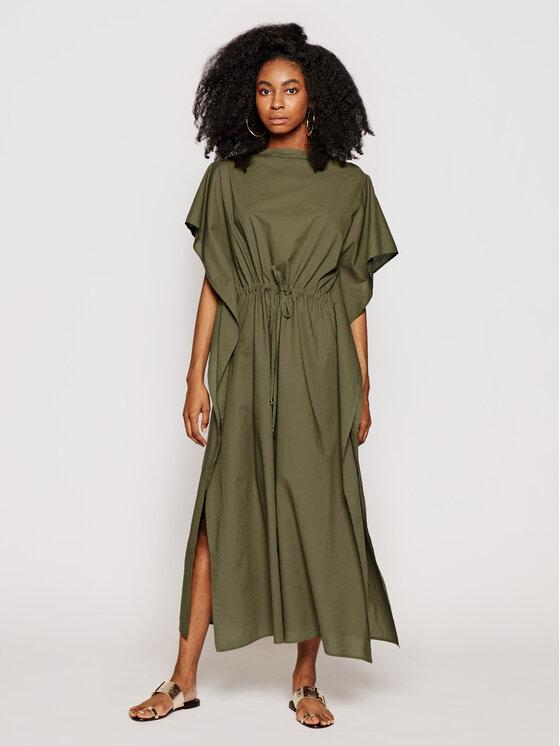 Chantelle Sukienka plażowa Offshore C11J70 Zielony Regular Fit