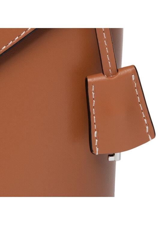 Calvin Klein Calvin Klein Torebka Lock Bucket Sm K60K606512 Brązowy