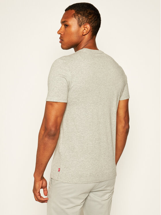 Levi's® Levi's® T-Shirt Housemark Graphic Tee 22489-0241 Szary Regular Fit